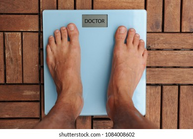 with the arrival of summer many people start the diet - balance to weigh body weight - overweight and obesity