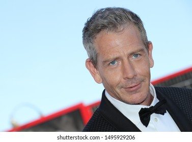 Arrivals at the 76th Venice Film Festival  at the Lido in Venice, on September 4, 2019. Redcarpet for the screening of Babyteeth with Australian actor Ben Mendelsohn