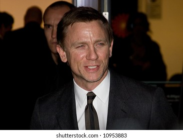 Arrivals at the British Independent Film Awards held at the Roundhouse, London, England. Daniel Craig