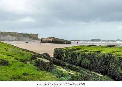 Arromanche Beach Normandy France