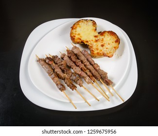 ARROSTICINI with potatoes