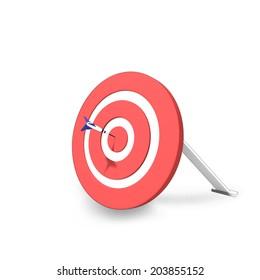 Arrow hit the target