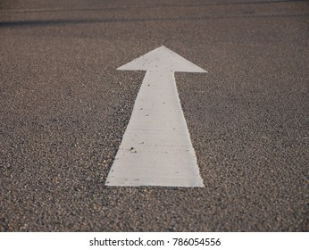 arrow keep going
