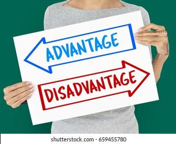 Advantages and Disadvantages Images, Stock Photos & Vectors