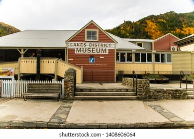 ARROWTOWN, NEW ZEALAND - Apr 27, 2019: Lakes District museum in Arrowtown in south island of new zealand