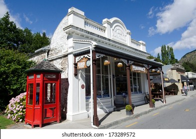 ARROWTOWN,NZ - JAN 17:Arrowtown on Jan 17 2014.It's a popular travel destination with well preserved buildings used by European and Chinese immigrants dating from the gold mining days of the town.