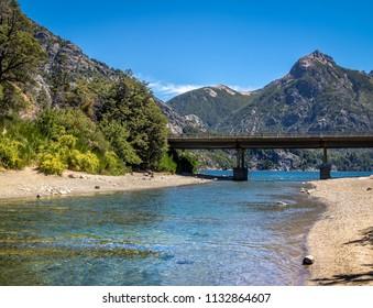 Arroyo La Angostura Bridge at Circuito Chico - Bariloche, Patagonia, Argentina
