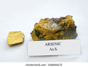 Arsenic, poisonous mineral