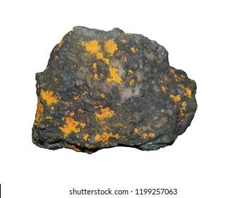 arsenic sulfide realgar isolated sample