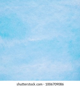 Art abstract blue watercolor painting textured design on white paper background
