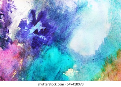 Art background or Colorful abstract art, Be creative, Be free