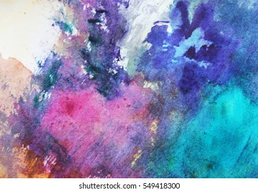 Art background or Colorful abstract art, Textile pattern, Creative abstract background, Creative process, Watercolor design, Colorful pattern, Pink and blue