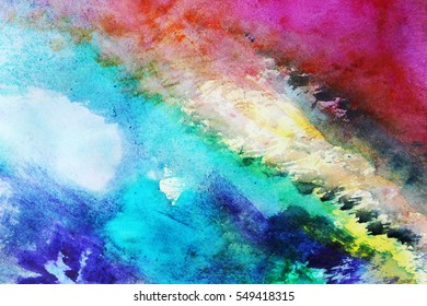 Art background or Colorful abstract art, Textile pattern, Be creative, Be happy, Create