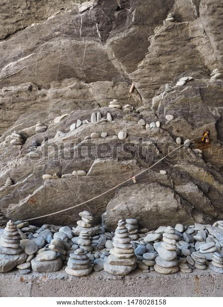 Art Balancing Stones Rock Stacking Stone Stock Photo Edit Now