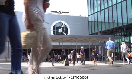 Art Basel Exhibition - Exterior - Exhibition Square, Basel, Switzerland - June, 2018