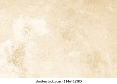 Art concrete or stone texture for background. Cream and white colors old grunge wallpaper texture seamless wall . Cement and sand wall of tone vintage.
