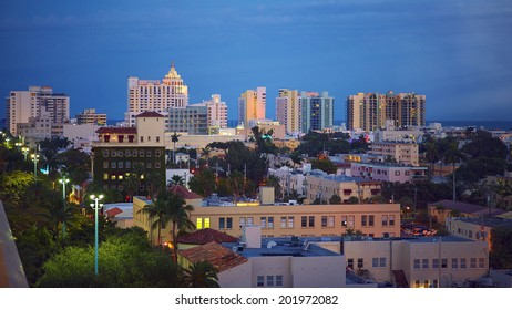 Art Deco building in the Art Deco District, South Beach, Miami
