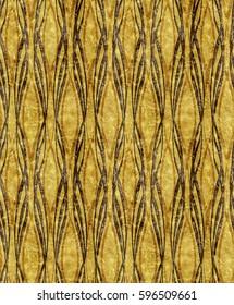 Art Deco golden pattern