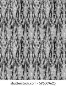 Art Deco silver monochrome pattern