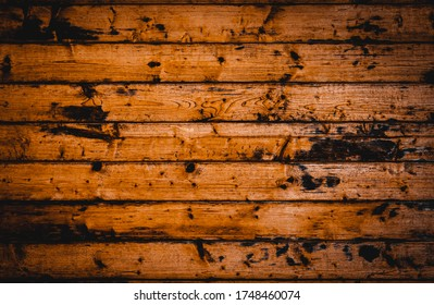 Art is empty of the beautiful old dark wood wall, patter natural texture, and surface for design background of tone vintage, caused by weathering, Pinaceae, Khasiya Pine