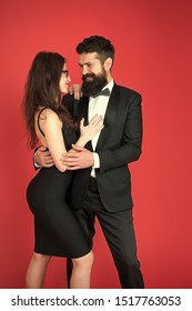 art experts of bearded man and woman. romantic date for art expert couple. Couple in love on date. esthete. Romantic relationship. Formal couple. Formal party. art experts team. date meeting. In love.