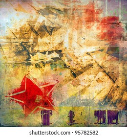 Art grunge background, colorful texture
