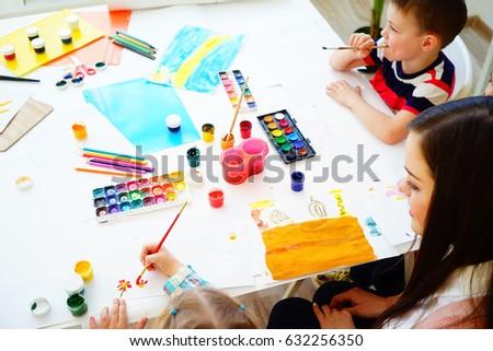 Class Art Project For Kindergarten