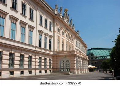 The Art Museum Albertina in Vienna Austria