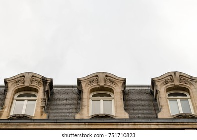 Art Nouveau architecture of the Chamber of Commerce in Nancy, France.