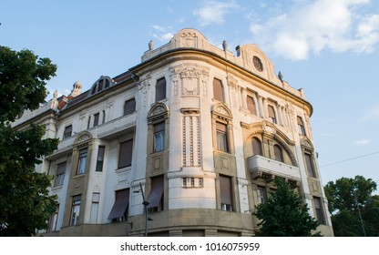 Art Nouveau building in the southern city of Szeged, Hungary