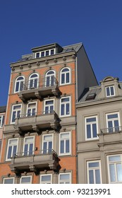 Art Nouveau house in Hamburg, Germany
