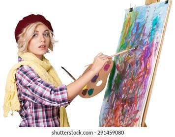 Art, Painting, Artist.