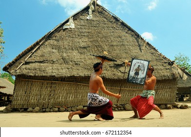 Art of peresean lombok island