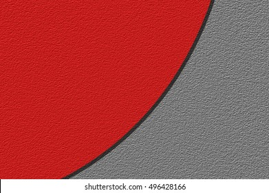 art red and gray color illustration background