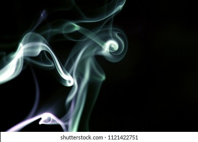 Art of smoke / Smoke is a collection of airborne solid and liquid particulates and gases emitted when a material undergoes combustion or pyrolysis