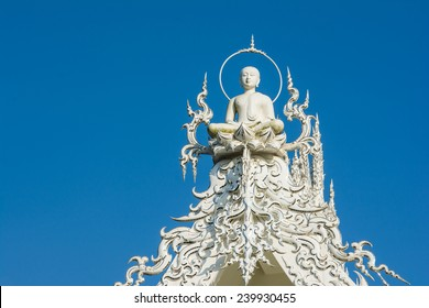 Art of Temple  Wat Rong Khun in Chiang Rai Thailand
