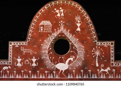 Art warli painting kalyan maharashtra INDIA