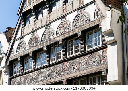 Art Window House Deutsche Architektur Stock Photo Edit Now