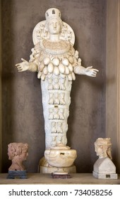 Artemis of Ephesus statue (the Lady of Ephesus) in Vatican