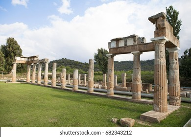 Artemis Temple at Athens Greece