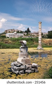 The Artemision, or Temple of Artemis or Diana at Ephesus