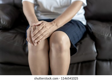 arthritis old person and Elderly woman female suffering osteoarthritis