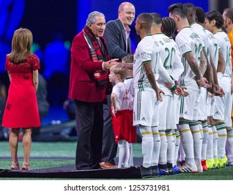 Arthur Blank - MLS CUP - 12-08-2018 Atlanta United FC Vs. Portland Timbers FC in Atlanta Georgia Mercedes Benz Stadium