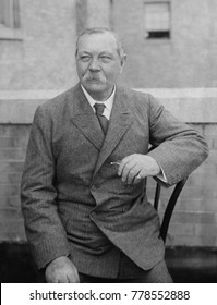 Arthur Conan Doyle, a Scotch-Irish writer created the fictional detective Sherlock Holmes, c. 1920. After suffering the loss of family members during World War 1, he investigated Spiritualism and wrot