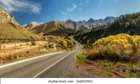 Arthur's Pass National Park in the South Island of New Zealand.