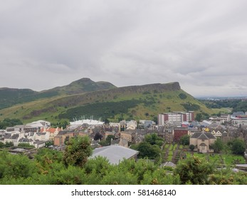 Arthur's Seat is the main peak of the group of mountains in Edinburgh, Scotland which form most of Holyrood Park.