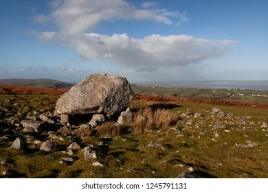 Arthur's Stone, a Neolithic burial tomb dating back to 2500 B.C. and was one of the first sites to be protected under the Ancient Monuments Act of 1882. situated on Cefn Bryn, North Gower, UK