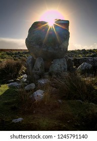 Arthur's Stone, a Neolithic burial tomb dating back to 2500 B.C. and was one of the first sites to be protected under the Ancient Monuments Act of 1882. situated on Cefn Bryn, Gower, Swansea, UK