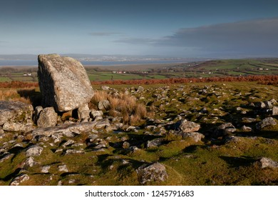 Arthur's stone on the Gower peninsula, UK Arthur's Stone, a Neolithic burial tomb dating back to 2500 B.C. and was one of the first sites to be protected under the Ancient Monuments Act of 1882.