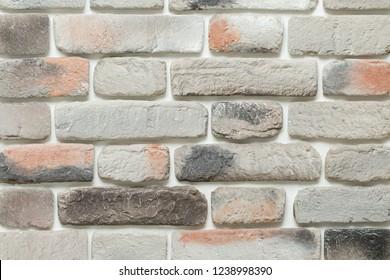 Artificial brick wall